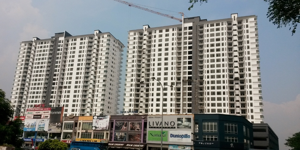 Current Progress of Dinspire Residences