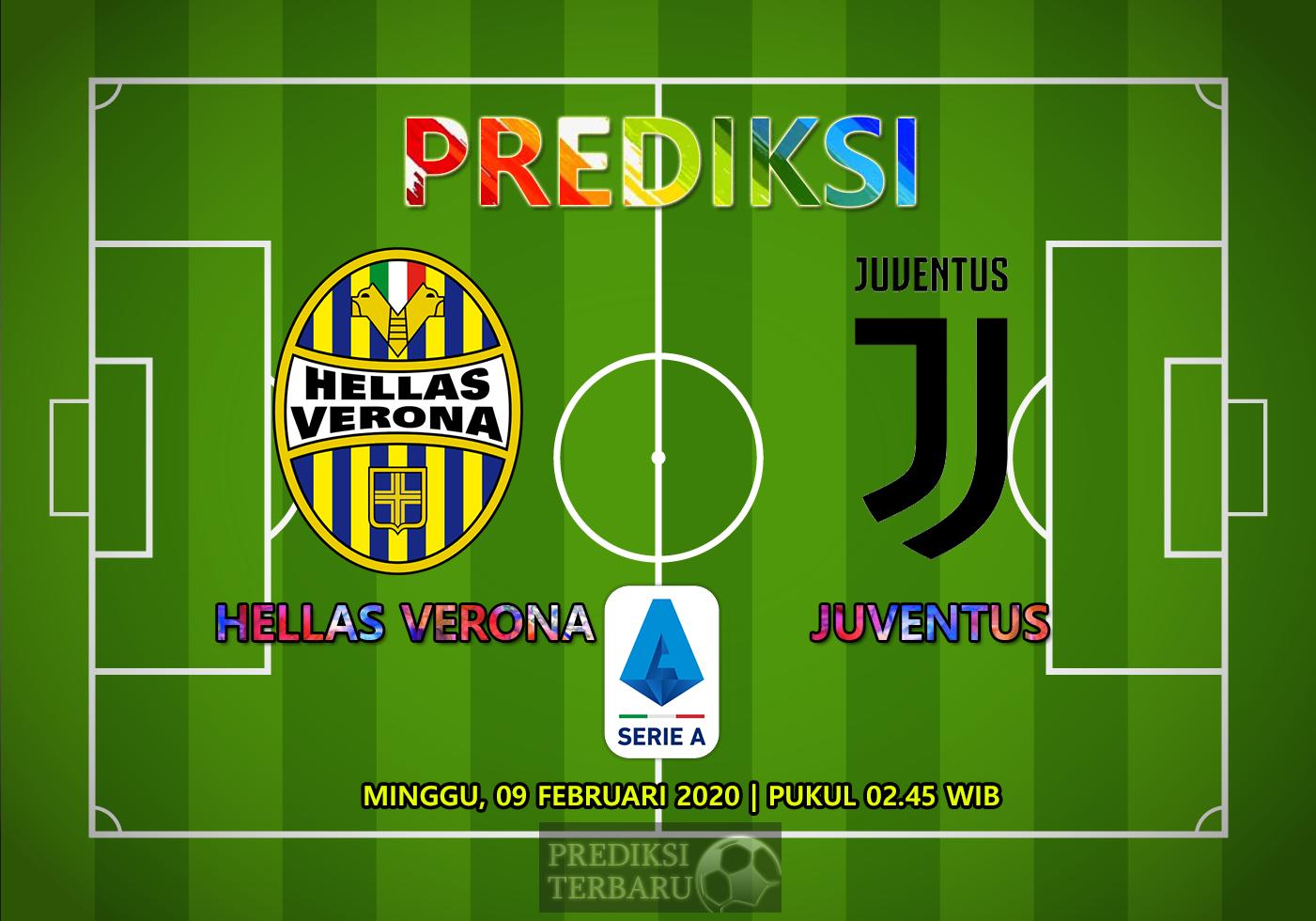 Prediksi Hellas Verona Vs Juventus 09 Februari