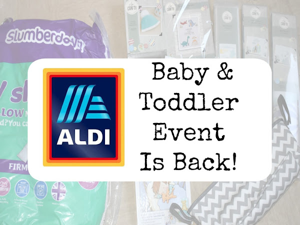 Aldi's Baby & Toddler Event Is Back This January!