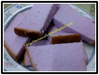 My Recipes: YAM CHIFFON CAKE