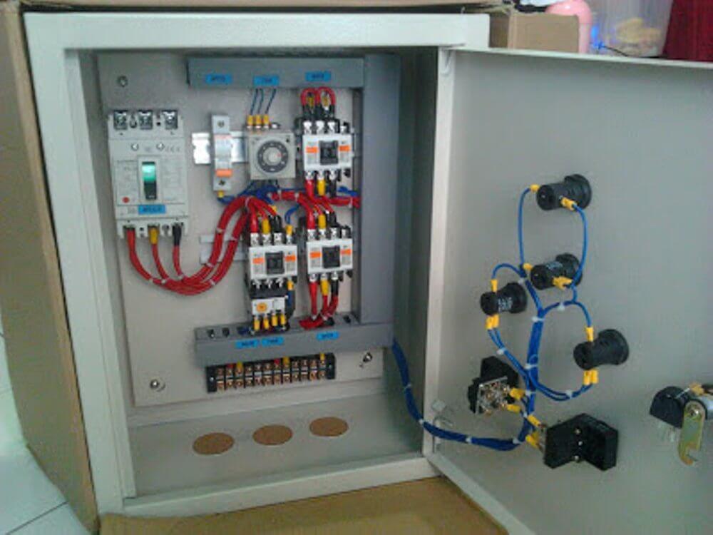 Marvelous Belajar Komponen Panel Listrik Lengkap 2019 Wiring 101 Akebretraxxcnl