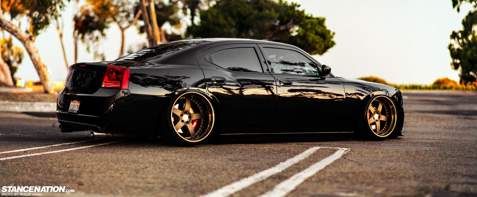 Pick of The Day: Stanced Dodge Charger Looks More Beastly Than Ever : ebeasts