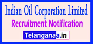 Indian Oil Corporation Limited IOCL Recruitment Notification 2017 Last date 29-04-2017