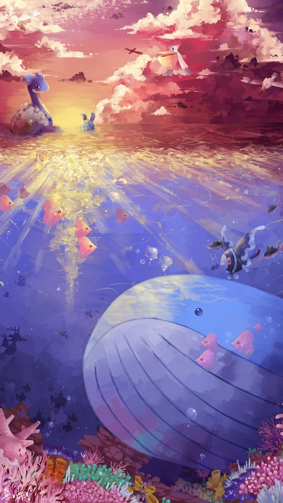 """""""Lóa mắt"""" bộ hình nền điện thoại Pokemon siêu dễ thương"""