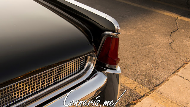 Lincoln Continental rear angle
