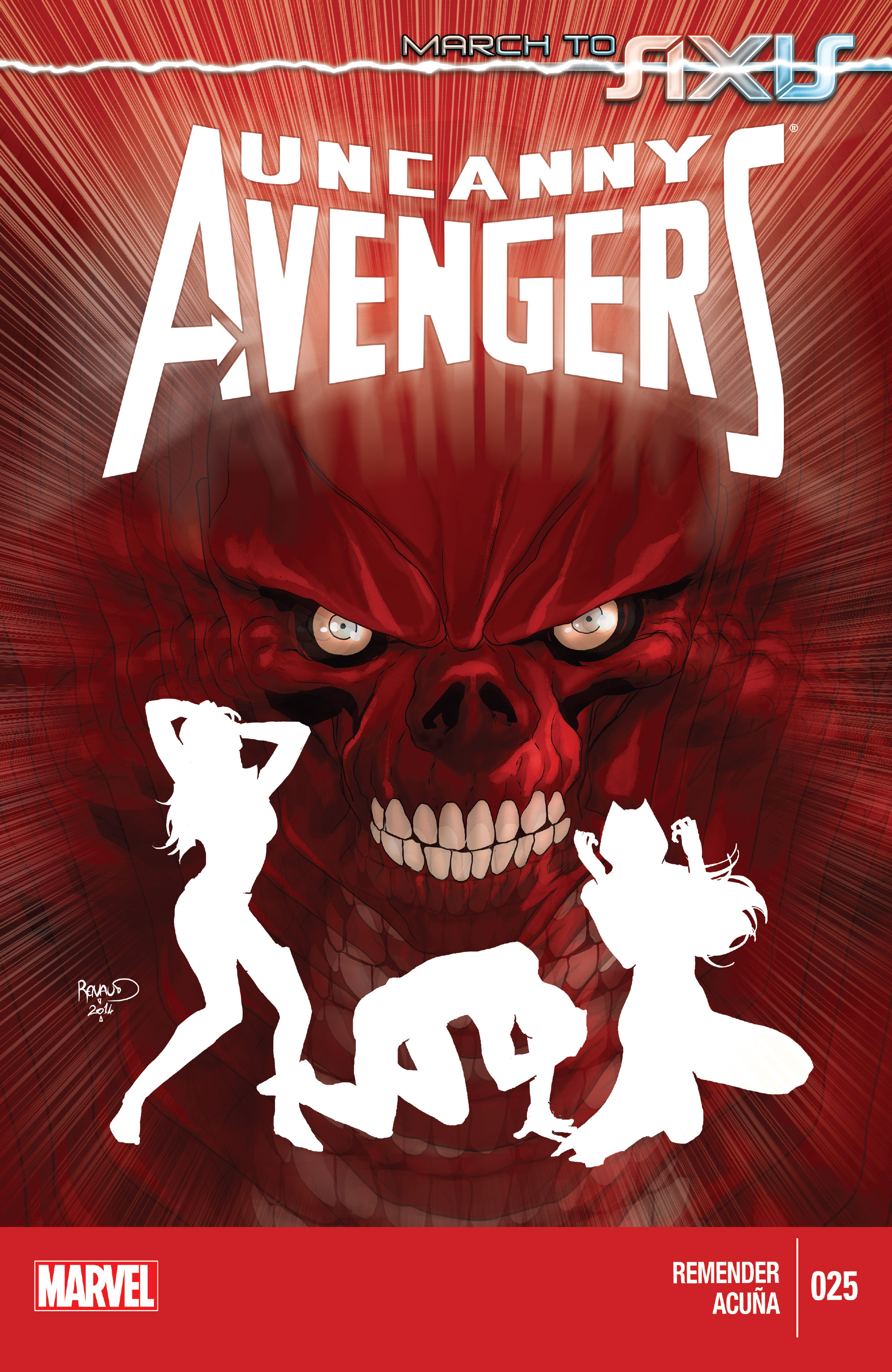 Read online Uncanny Avengers (2012) comic -  Issue #25 - 1