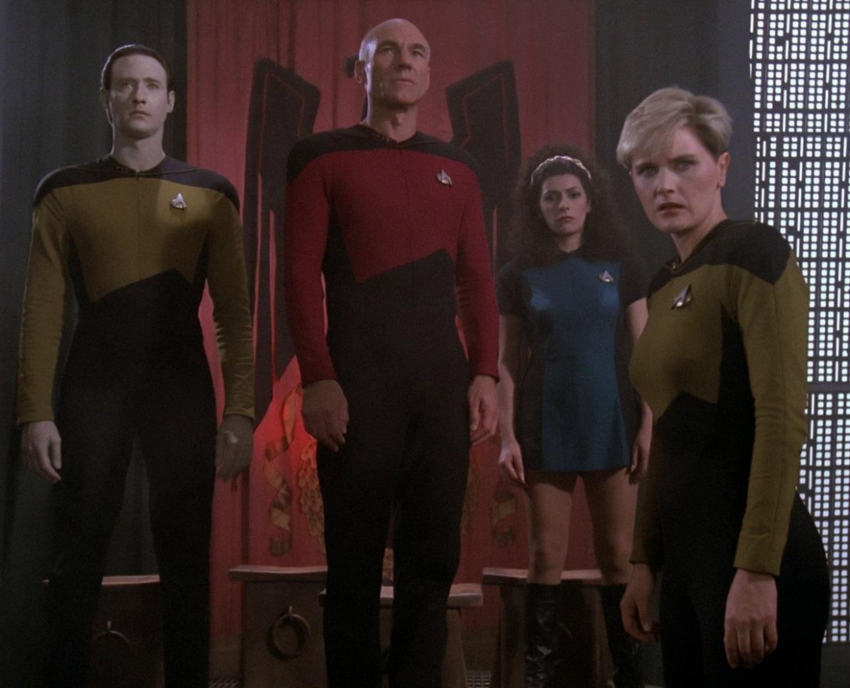 Changes star trek uniform Uniforms
