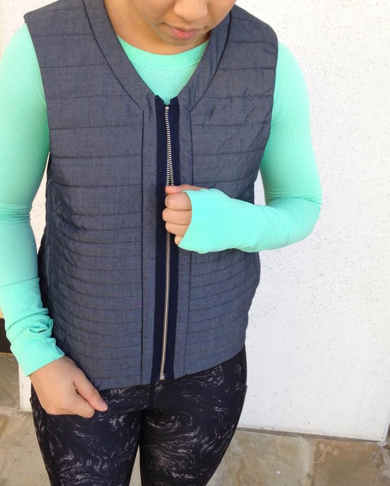 lululemon light and bright vest