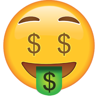 Whatsapp Money Face Emoji