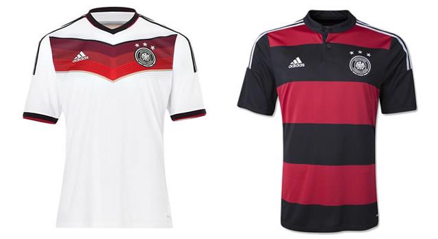 Camisetas selección Alemania Mundial 2014