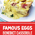 Famous Eggs Benedict Casserole #brunchrecipes #eggsbenedict