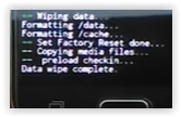 data wipe complete - Samsung Galaxy J2 Pro (2016)