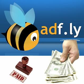 Mencairkan Uang Dan Bukti Pembayaran Dari Adf.ly