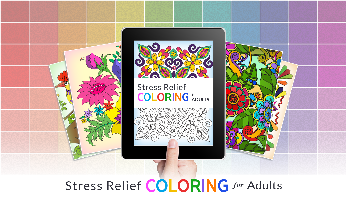 Our Parkinson\'s Place: Introducing Stress Relief Adult Color Book ...