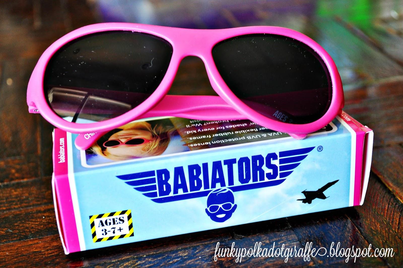 08aeadbd7e4 Funky Polkadot Giraffe  Babiators Sunglasses  GIVEAWAY