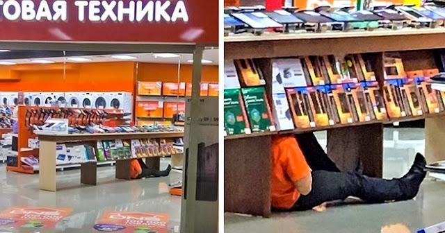 Quando você está exausto e precisa descansar um pouco