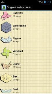 Aplikasi Cara Membuat Origami Untuk Android