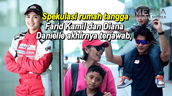 Spekulasi rumah tangga Farid Kamil dan Diana Danielle akhirnya terjawab
