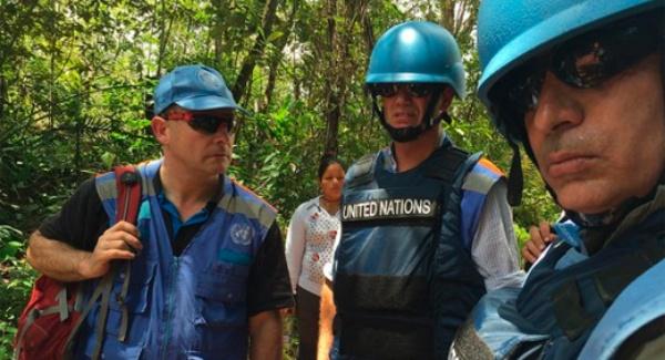 ONU inicia verificación del cese al fuego en Colombia