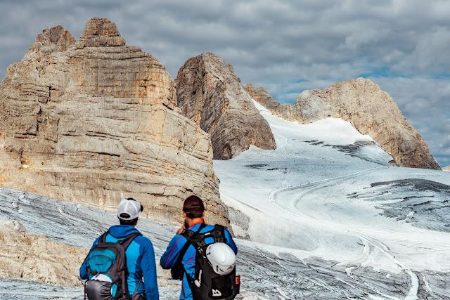 Dachstein Gletscherwanderung  Vom Dachsteingletscher nach Ramsau 01