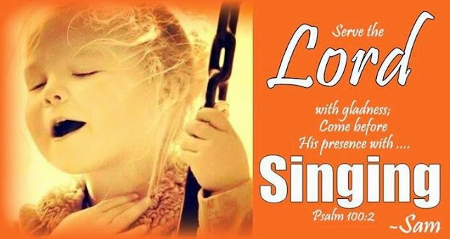 Sing the Lord Mobile Bible Verse