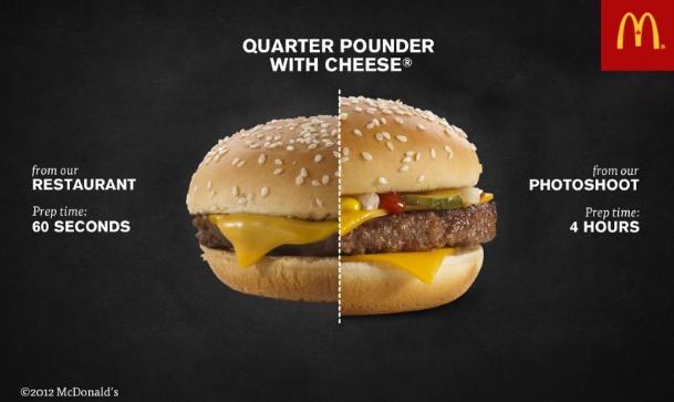 Penjelasan Kenapa Burger McDonald's Yang Anda Beli Tidak Sama Macam Dalam Iklan