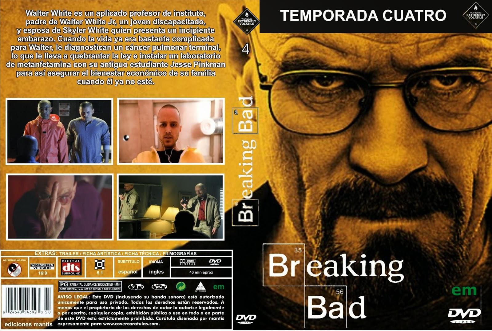 ESTRENOS EN BLU RAY: BREAKING BAD CUARTA TEMPORADA