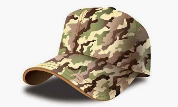 Army Cap Illustrator Tutorial