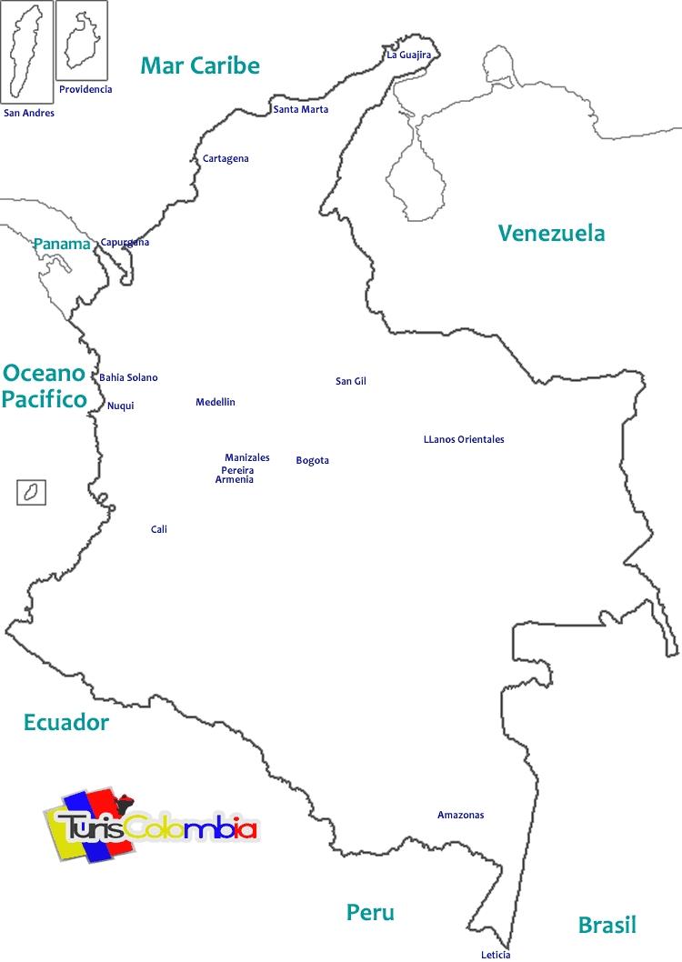 mapa de colombia con sus limites » 4K Pictures | 4K Pictures [Full ...