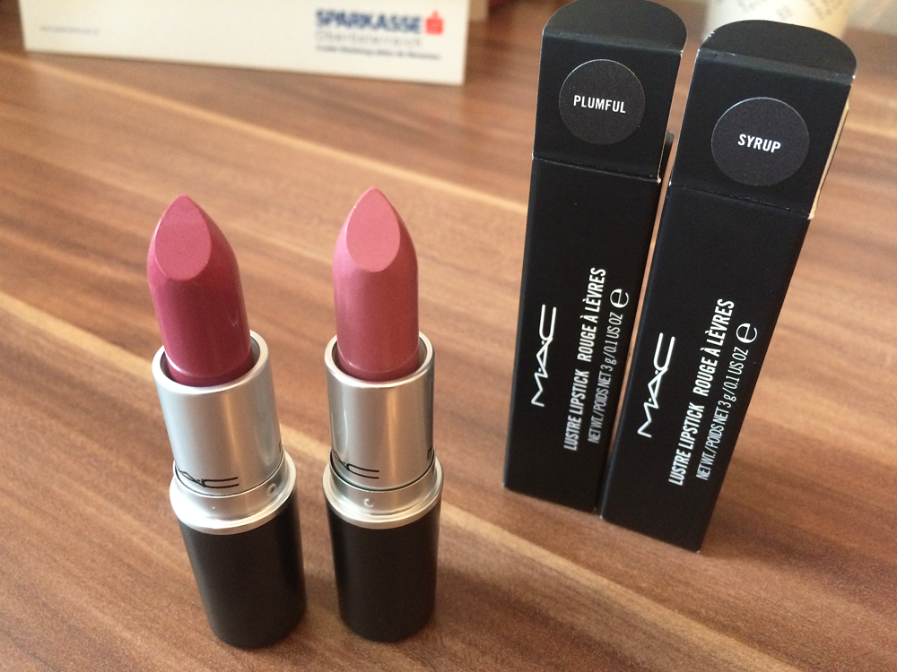 Mac Cosmetics - Syrup vs. Plumful // COMPARISON - The ...