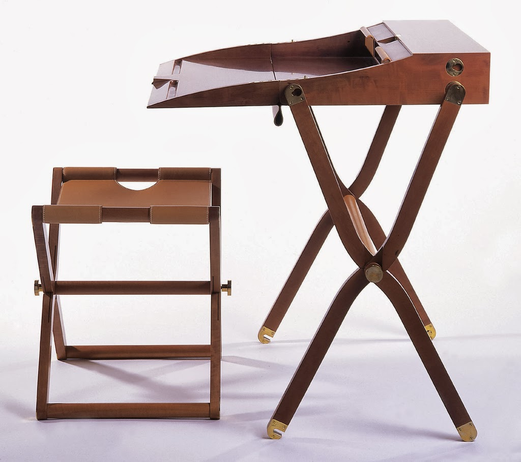 folding chair with desk armchair table pippa by rena dumas modernistic design