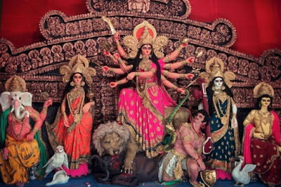 Kolkata Durga Puja 2016 Photos with celebration