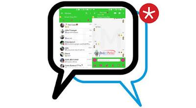 BBM Kemod Season 9 BBM Green Theme v3.0.0.18 Apk Terbaru
