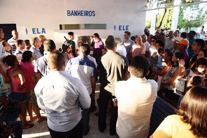 """Prefeito Fabio Gentil entrega Rodoviária José Dias Moura, a """"Rodoviarinha"""" da Av. Santos Dumont após reforma geral"""