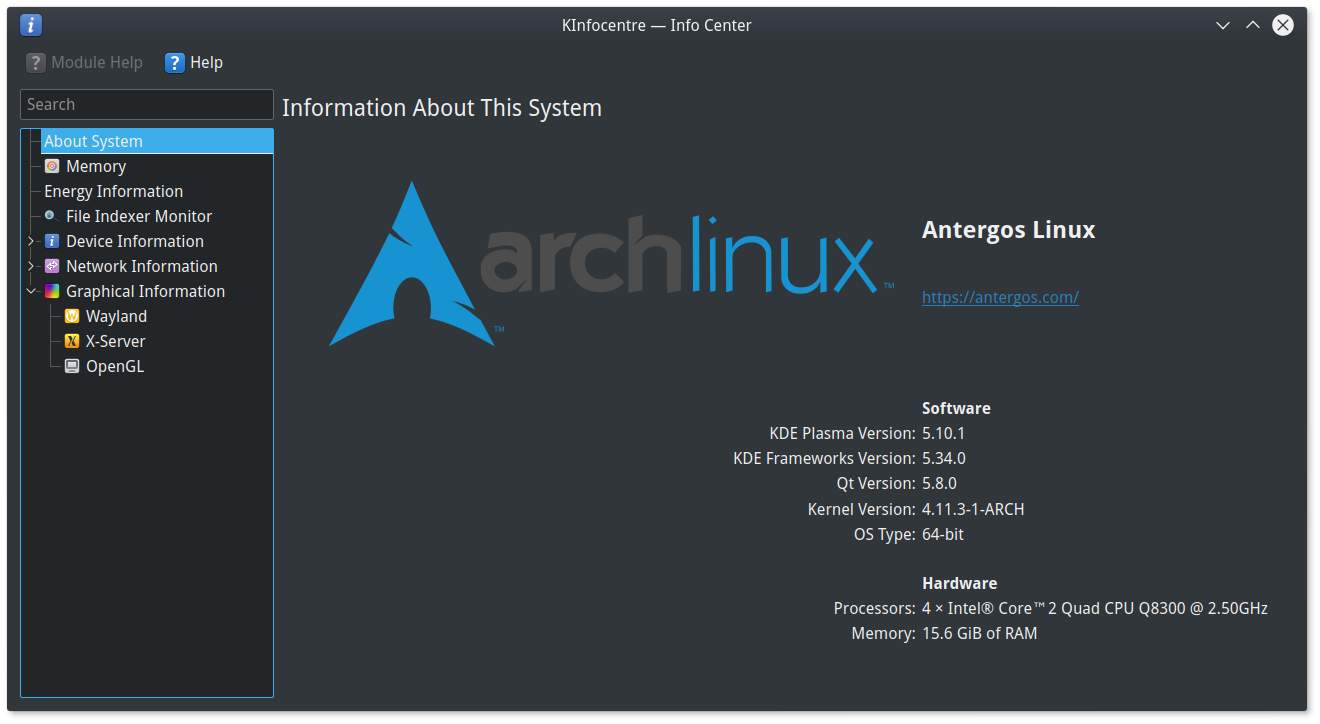I've moved back to KDE with Antergos | An IT Manager's Tale
