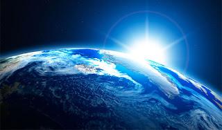Conexão da terra com a luz
