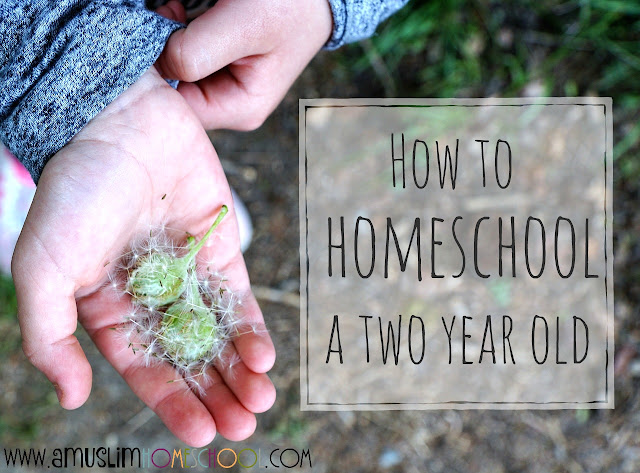 How to start homeschooling a 2 year old - advice from a Muslim Homeschool