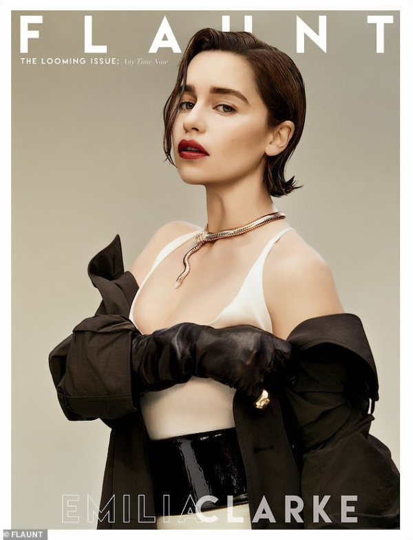 Emilia Clarke Looks Hot in a Photoshoot