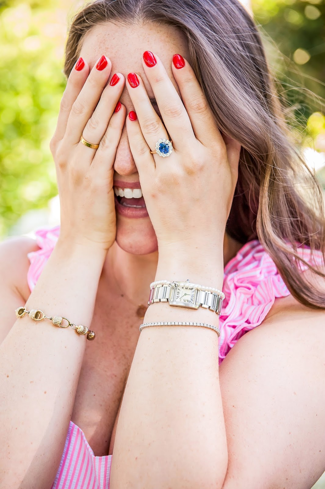 Everyday jewelry featured by popular New York style blogger, Covering the Bases