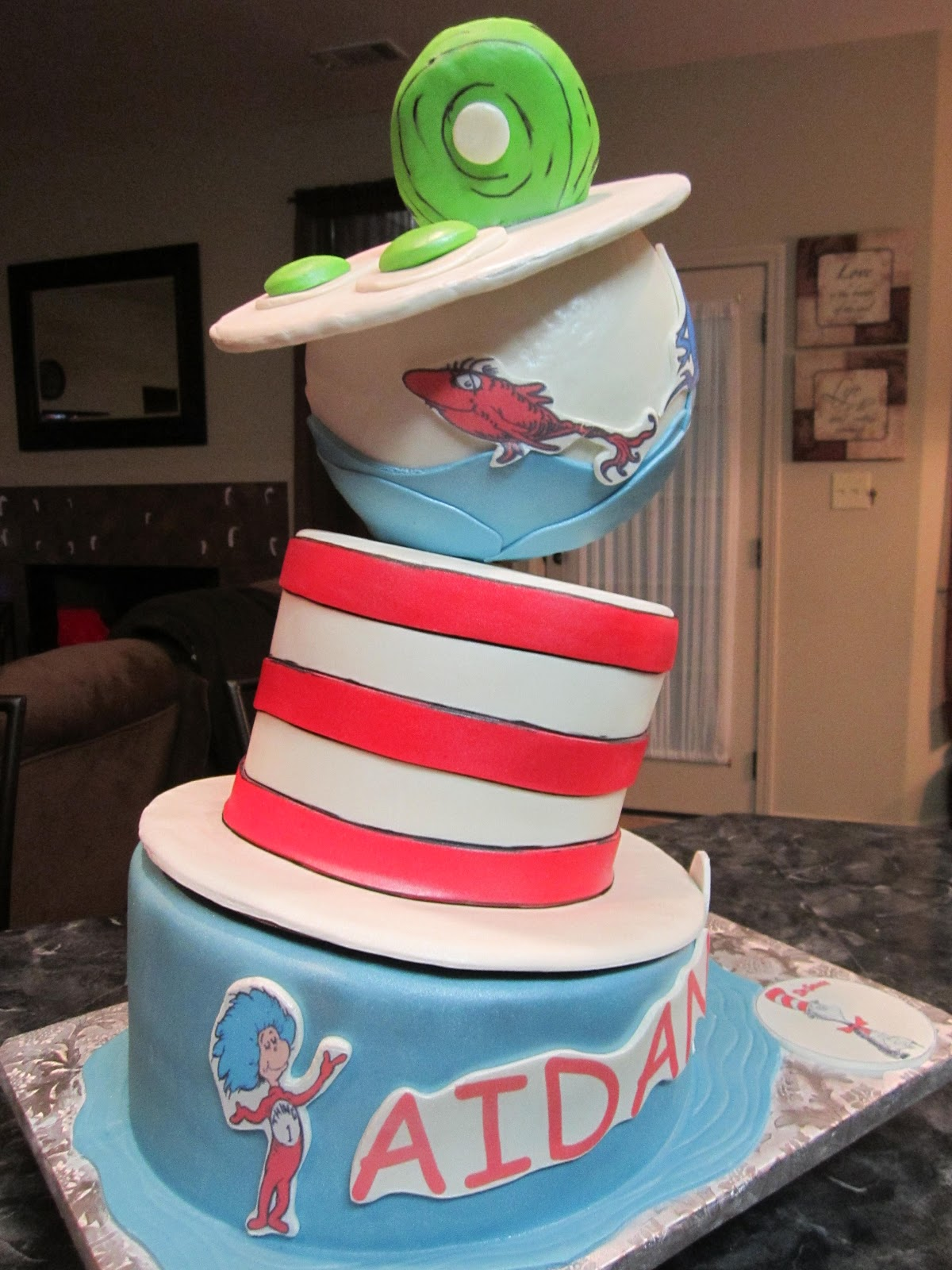 MyMoniCakes: Topsy Turvy Dr. Suess Inspired Green Eggs ...