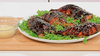 طريقة عمل اوراك الدجاج بصوص الترياكي مع نورا السادات في عمايل إيديا