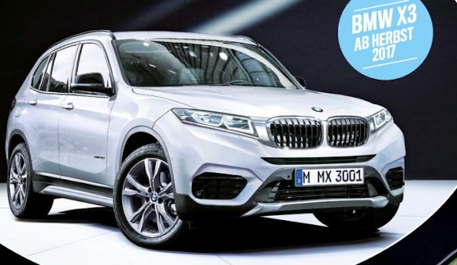 2018 BMW X3 Redesign and Powertrain Upgrade - Blog Suv
