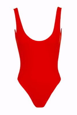 Carmen Malibu Red swimsuit