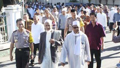 Tradisi Silaturahmi Keliling Kampung Arab Manado