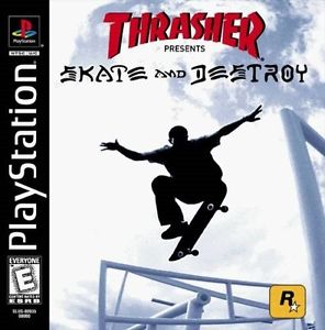 Thrasher - Skate & Destroy - PS1 - ISOs Download