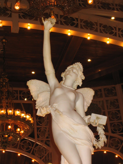 Main Street Station Dice Angel Sculpture