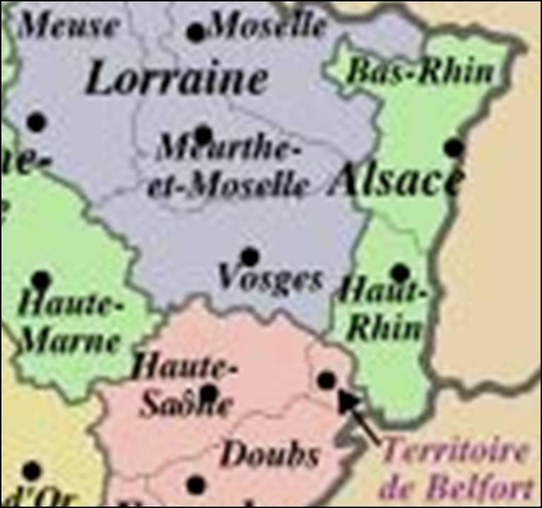 Kaart Frankrijk Departementen Regio S Kaart Vosges Vogezen En