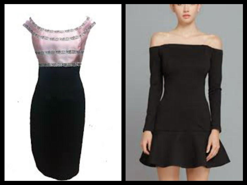Vestidos para mujeres de espalda ancha