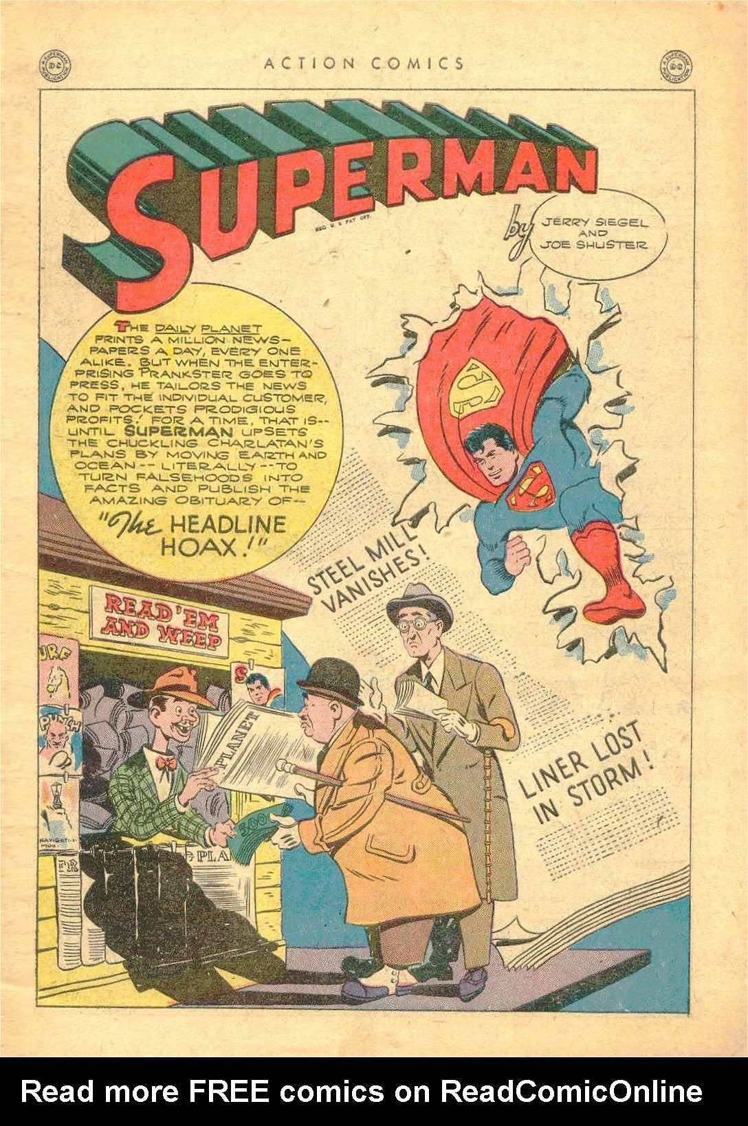 Read online Action Comics (1938) comic -  Issue #77 - 2
