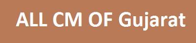 ALL CM OF Gujarat PDF - Gujarat na Mukhyamantri